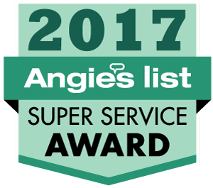 2007-2017 Angie's List Super Service Award–Eleven Consecutive Years!