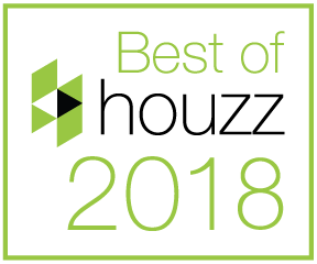 'Best of Houzz' 2015, 2016, 2017 and 2018 Service Award